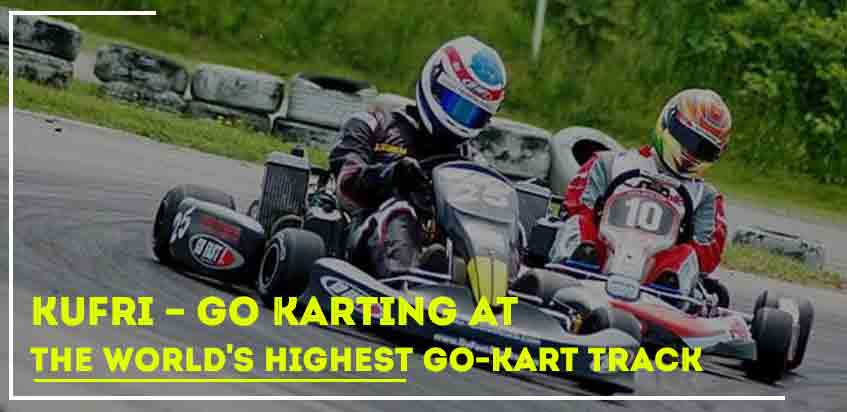 Kufri - Go Karting At The World's Highest Go-Kart Track